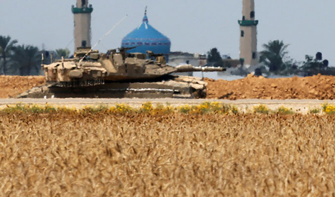 İsrail, Filistin'i vurdu!