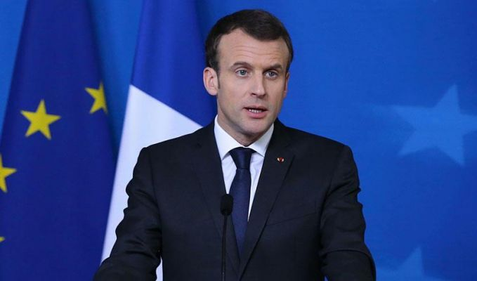 Macron'dan İsrail'e sert tepki