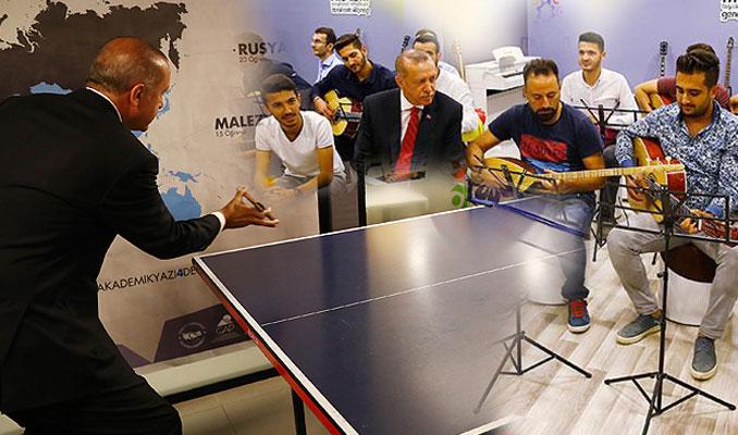 Cumhurbaşkanı Erdoğan Mardin'de gençlerle buluştu