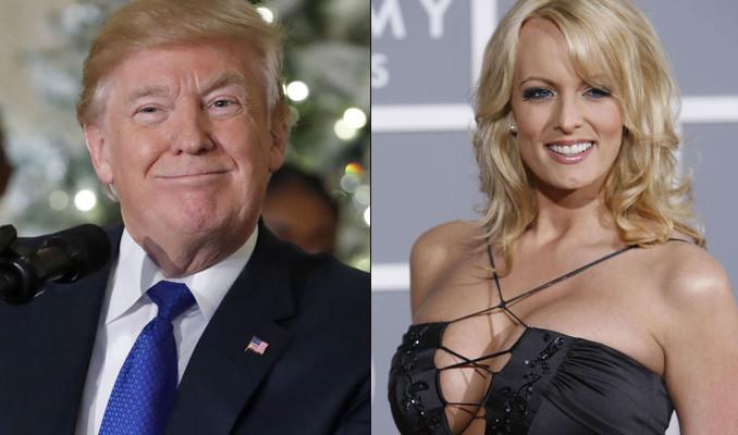 Porno yıldızı Daniels gözaltına alındı