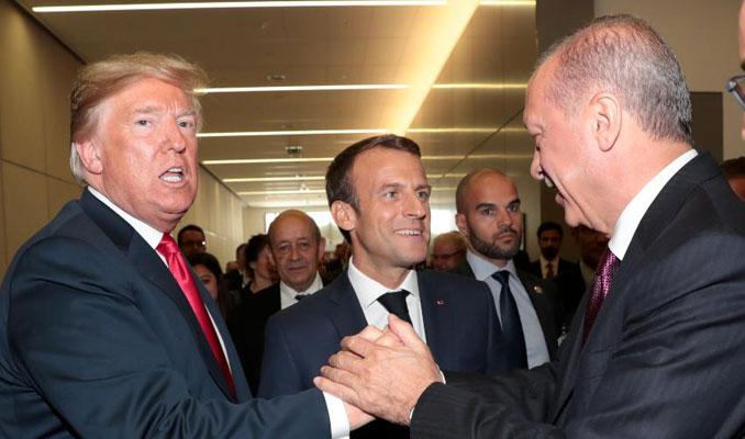 Trump'la Erdoğan'dan samimi sohbet