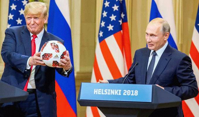 Putin'den Trump'a anlamlı hediye