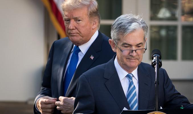Fed'in faiz artırımına Trump'tan eleştiri