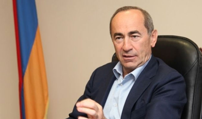 Eski Ermenistan Cumhurbaşkanı için tutuklama kararı