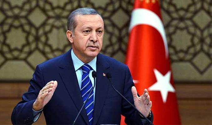 Erdoğan'dan torun ziyareti