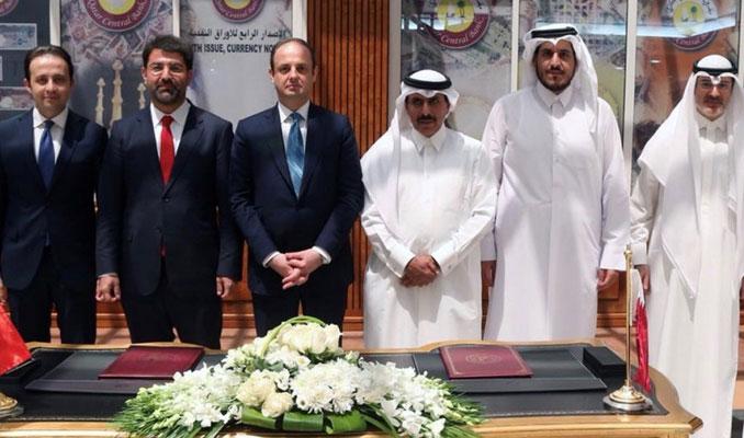Türkiye ve Katar merkez bankaları swap anlaşması imzaladı