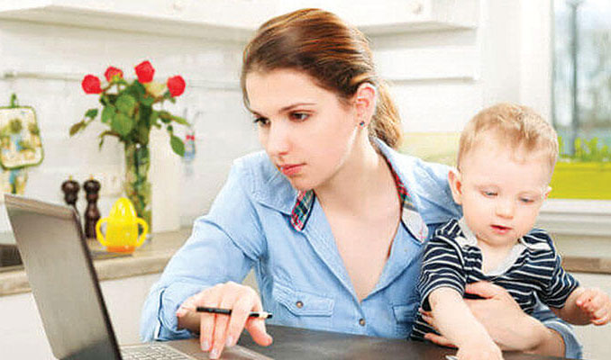 Çocuklu memurlar evden mi çalışacak?