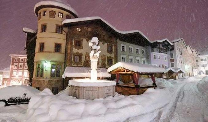 Avrupa'nın çetin kışı