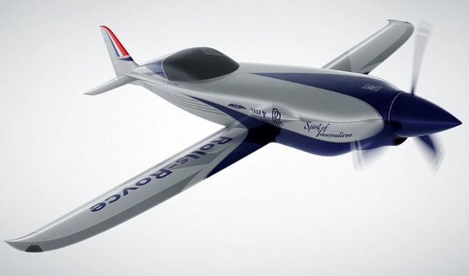 Rolls Royce dünyanın en hızlı elektrikli uçağını üretecek