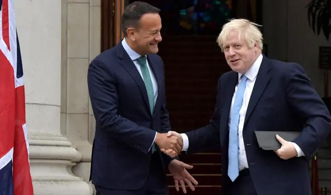Johnson ve Varadkar, Brexit konusunda mutabık kaldı