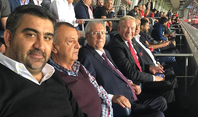 Aziz Yıldırım Kadıköy'de