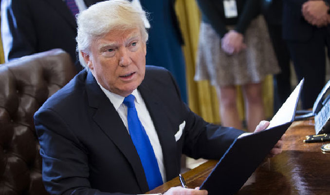 Trump imzaladı: Akar, Soylu ve Dönmez yaptırım listesinde