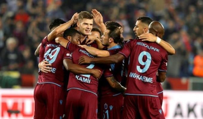 Trabzonspor evinde farklı kazandı: 4-1