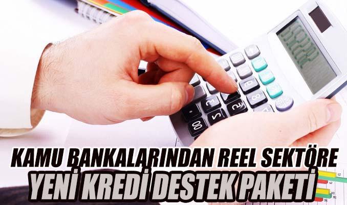 Kamu bankalarından reel sektöre yeni kredi destek paketi