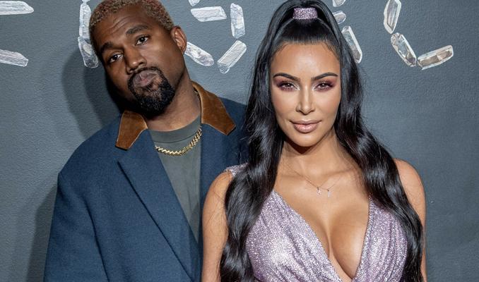 Kanye West'ten Kim Kardashian'a 1 milyon dolarlık hediye