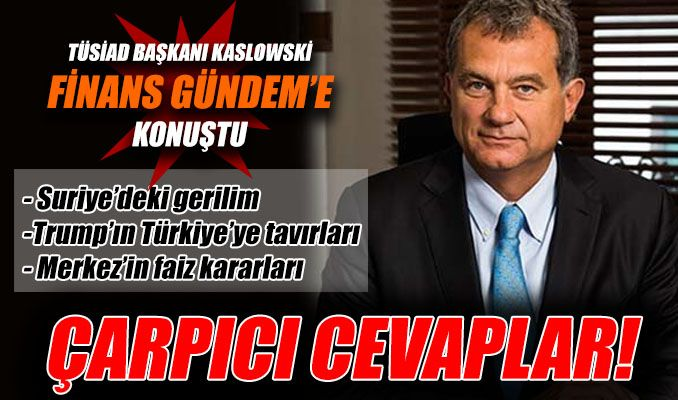 Kaslowski: Enflasyonun yüzde 5'in altında kalıcılığı sağlanmalı