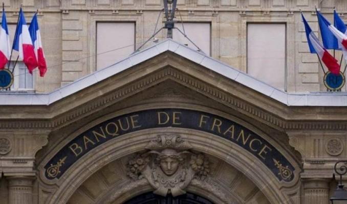 Fransa Merkez Bankası büyümenin bu çeyrekte yavaşlayacağını kaydetti