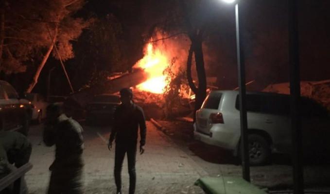 Şanlıurfa'daki tugay komutanlığında patlama oldu