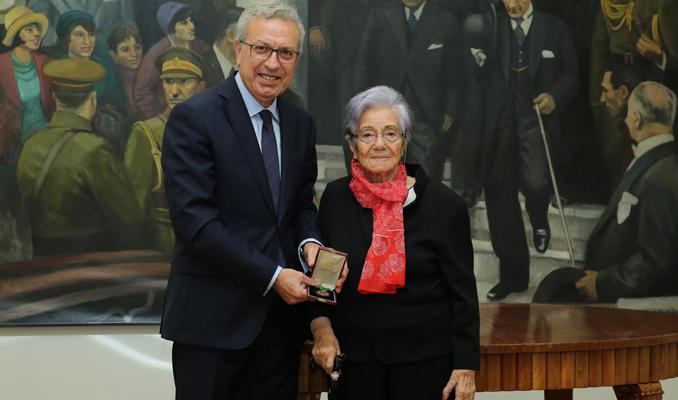 Abdullah İsmet Eker'in İstiklal Madalyası İş Bankası Müzesi'ne bağışlandı