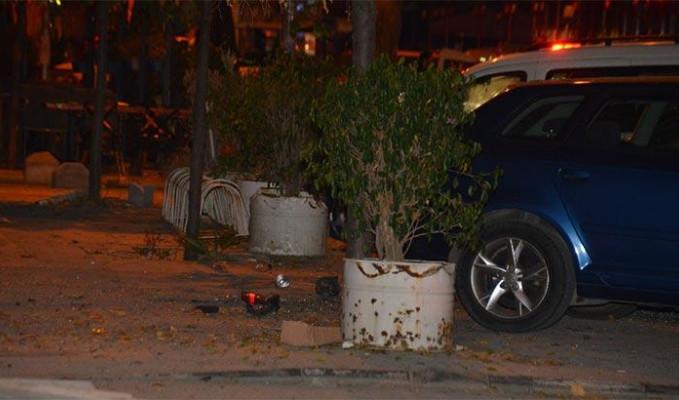 Adana'da eğlence mekanlarının bulunduğu caddede patlama
