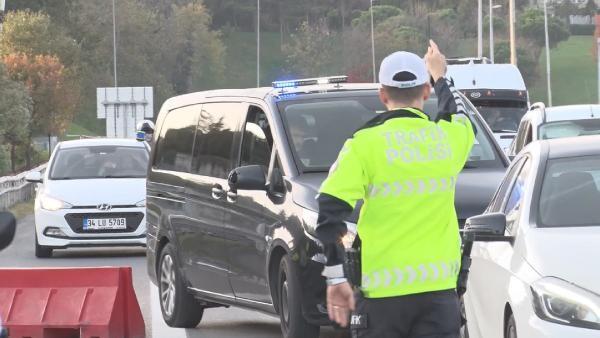 İstanbul'da yetkisiz çakar kullanan araç tespit edilmedi