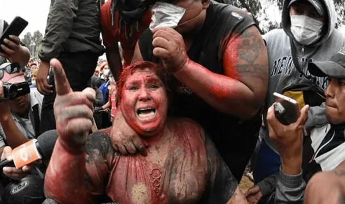 Bolivya'da kadın belediye başkanına korkunç işkence