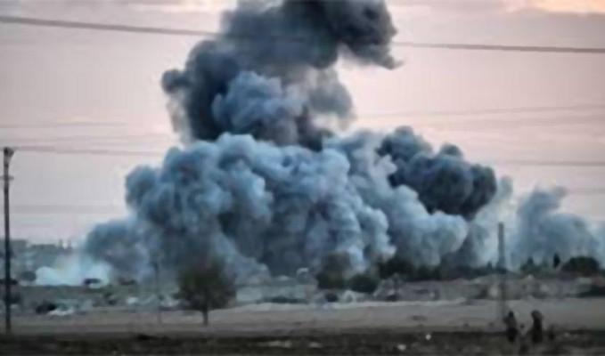 Irak'taki ABD askeri üssü 17 füzeyle vuruldu