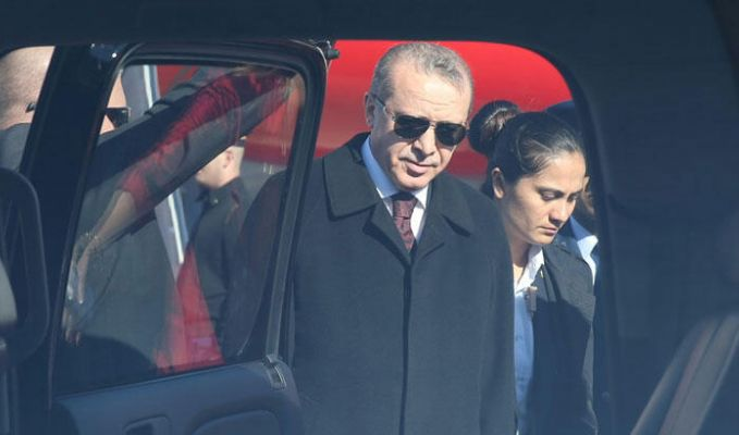 Yerli oto görücüye çıkıyor! Test sürüşü Erdoğan'dan