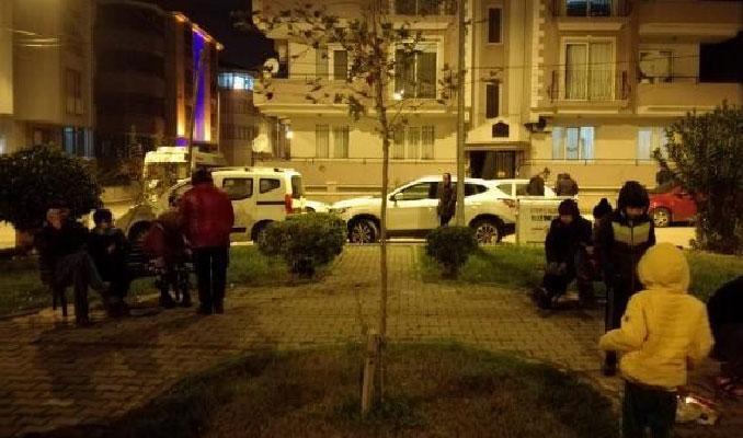 Balıkesir'de deprem paniği