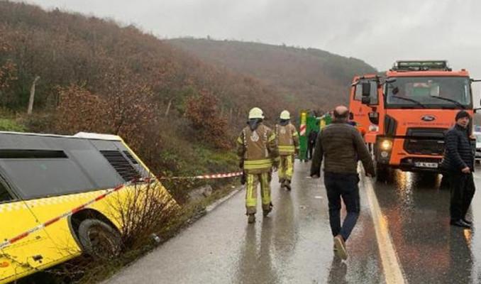 İETT otobüsü kaza yaptı: 1 ölü çok sayıda yaralı var