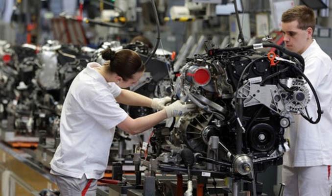 Almanya'da sanayi üretimi azaldı