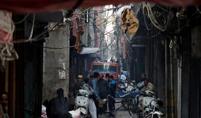 Hindistan'da fabrika yangını: 43 kişi öldü