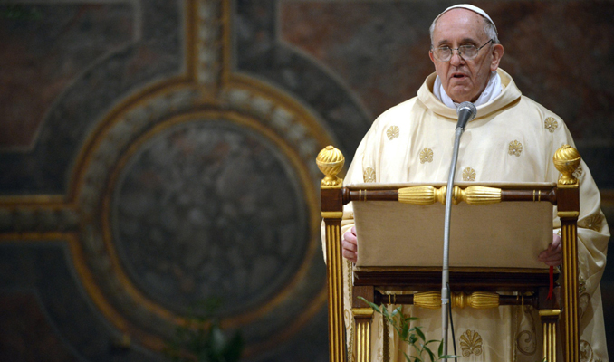 Katolik kilisesi içinden Papa'ya muhalefet