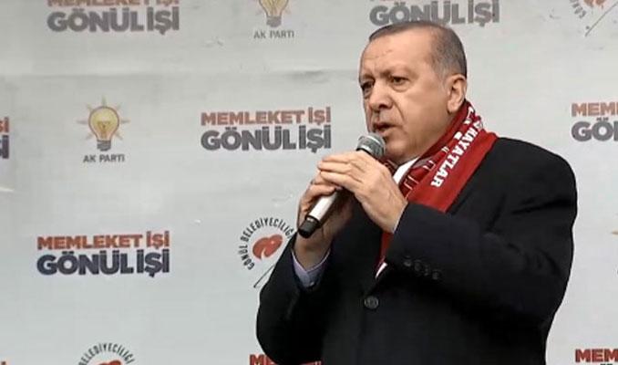 Erdoğan: Gıda terörü estirenlere karşı tedbirimizi aldık