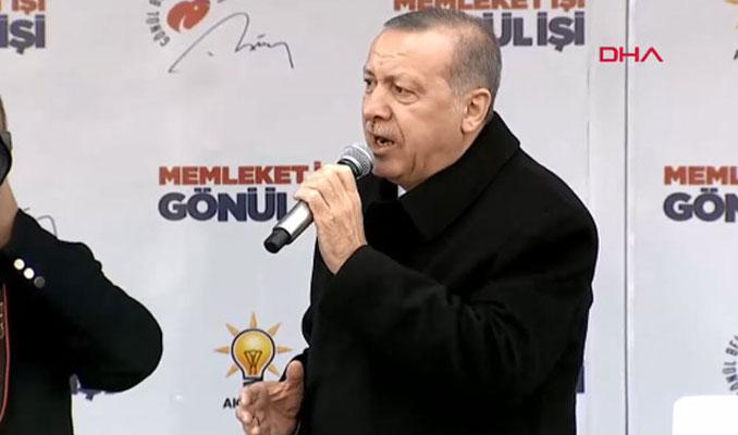 Erdoğan: Maruz kaldığımız bu düşmanlıkları berat belgemiz