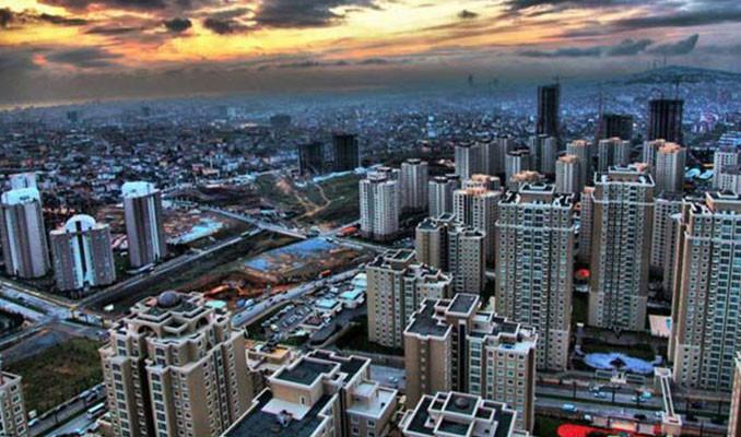 Türkiye'de konut stoğunun  yaklaşık %40'ı İstanbul'da