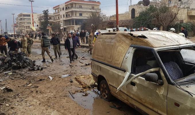 Afrin'de bombalı araç saldırısı