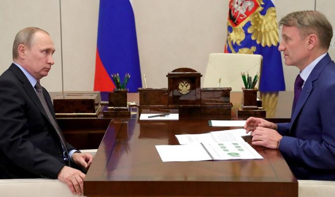 Putin, Sberbank Başkanı Gref'i ödüllendirdi