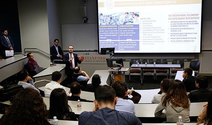 Silikon Vadisi'nde Türkiye'nin Milli Teknoloji Hamlesi konuşuldu