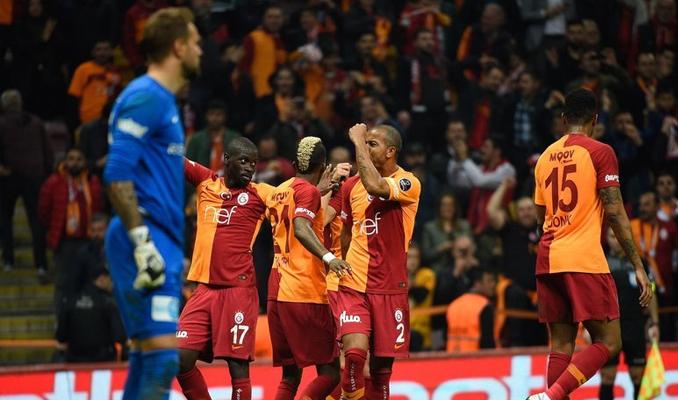 Galatasaray: 5-0 Antalyaspor