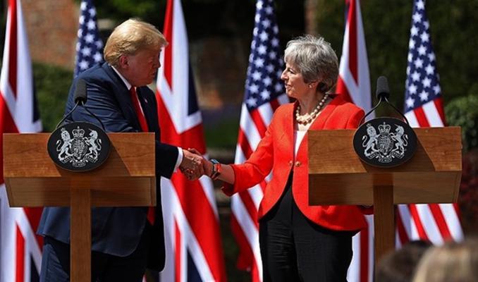 Trump'tan May'e Brexit göndermesi: Beni dinlemedi