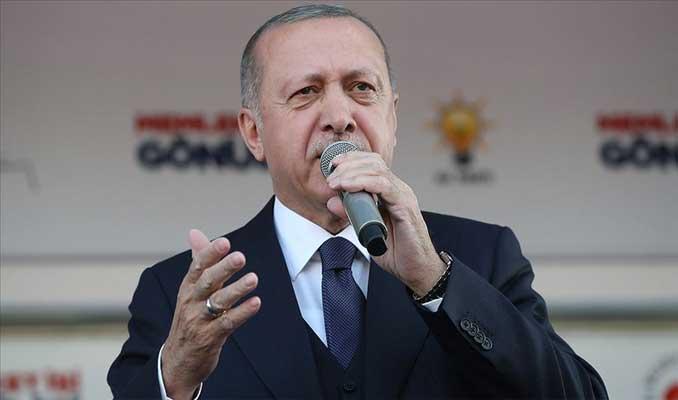 Erdoğan: Şer şebekelerinin heveslerini kursaklarında bırakın