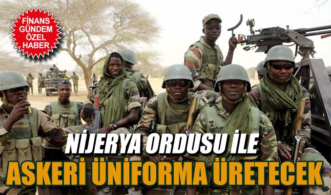 Nijerya ordusu ile askeri üniforma üretecek