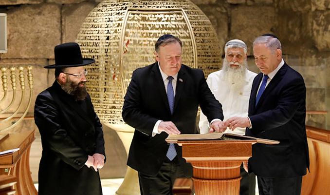 Tanrı Trump'ı Yahudileri kurtarmak için gönderdi