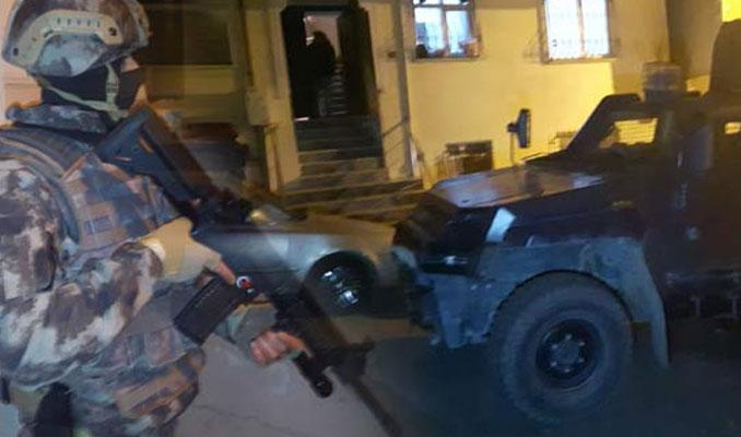 İstanbul'da dev terör operasyonu! Çok sayıda gözaltı var