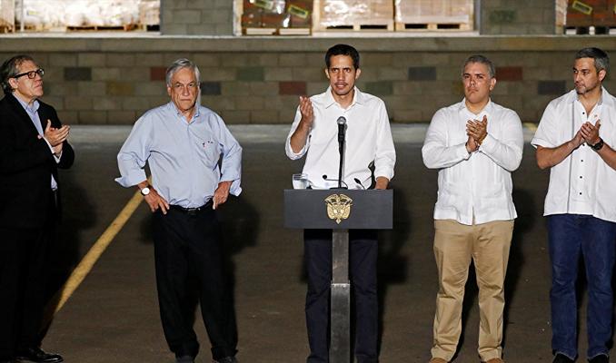 Venezuelalı muhalif lider Guaido ülkesine geri döndü