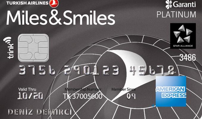 Miles&Smiles Garanti kredi kartları uçururken kazandırıyor