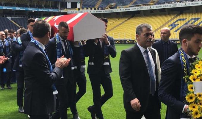 Can Bartu için Ülker Stadyumu'nda tören düzenlendi