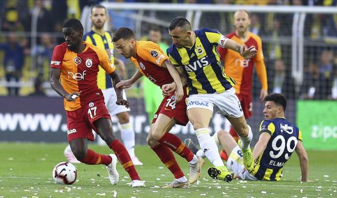 Fenerbahçe - Galatasaray derbisi 1-1 sona erdi