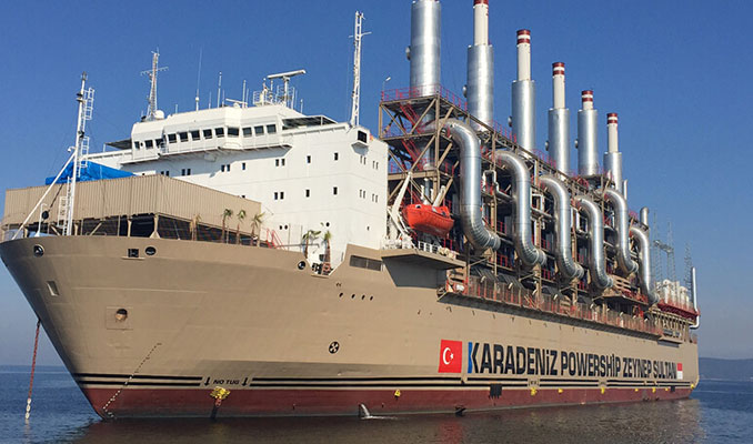 Türk gemisi, Kamboçya'ya elektrik verecek